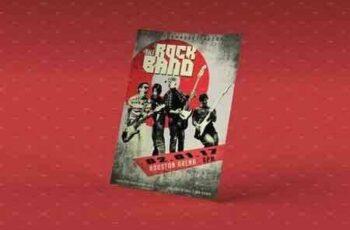 1802208 Rockband PSD Poster Template 1964868 3