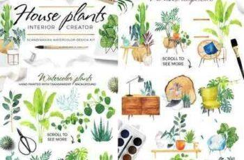 1802223 Scandi house plants interior creator 2106279
