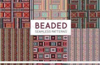 1802232 Bead Effect Tribal Seamless Patterns 796694 8