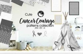 1802234 CANCER COURAGE Pattern collection 2018346 3