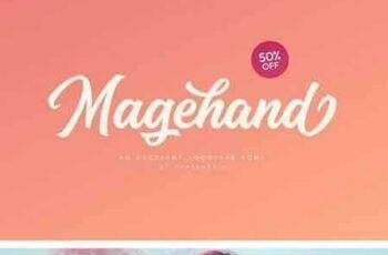1802247 Magehand Logo Font 2016410