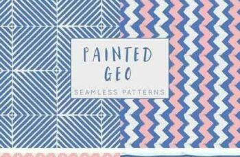 1802250 Painted Geo Seamless Patterns 786269 3