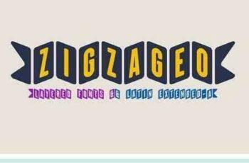 1802254 Zigzageo -3 fonts- 2094165 5