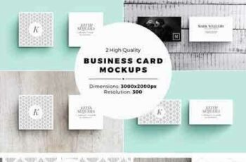 1802263 Business Card MockUps 2000526 6