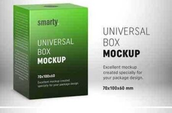 1802283 Box mockup - 70x100x60 mm 2153788 3
