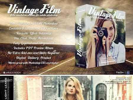 1802288 Actions for Photoshop Vintage Film 2185768 - FreePSDvn