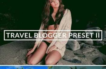 1803002 TRAVEL BLOGGER II LIGHTROOM PRESET 2231338 5