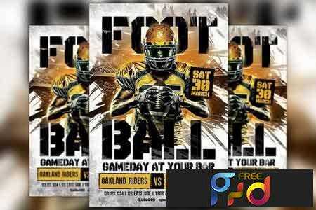 1803004 American Football Game Day Flyer 2186087 1