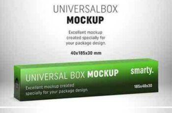 1803007 Box mockup - 185x40x30 mm 2153632 4