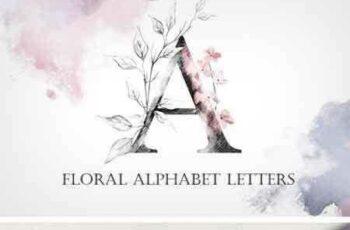 1803014 Floral Alphabet Letters 2200289 6