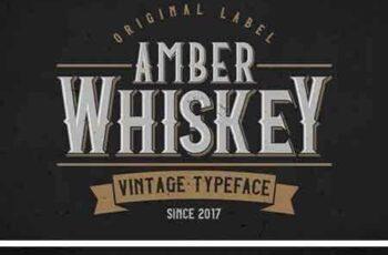 1803024 Amber Whiskey Typeface 2200308 4