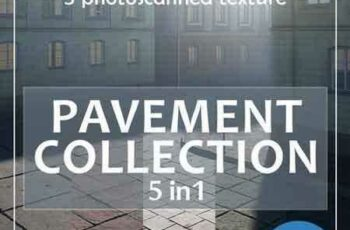 1803041 Photoscanned pavement collection 1914220