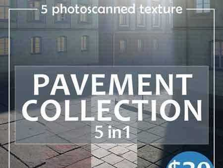 1803041 Photoscanned pavement collection 1914220 - FreePSDvn