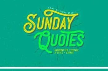 1803045 Sunday Quotes