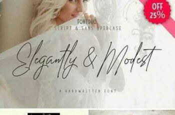 1803050 Elegantly&Modest FontDuo 2149153 6
