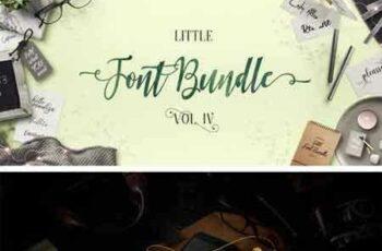 1803057 The Little Font Bundle Volume IV 5