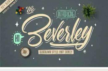1803086 Beverley Font Family (Extra Bonus) 2199734 3