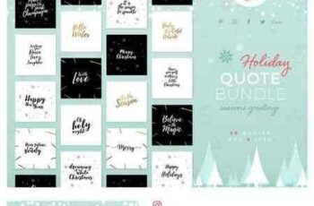 1803145 Holiday Quote Bundle 2118470 5