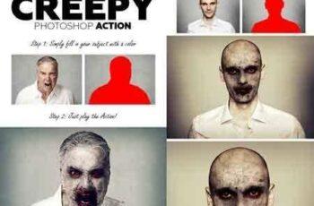 1803153 Creepy Photoshop Action 21364961