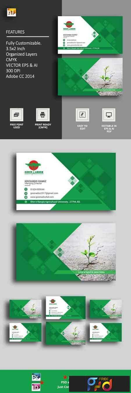 1803154 Agricultural Business Card 1498602 1
