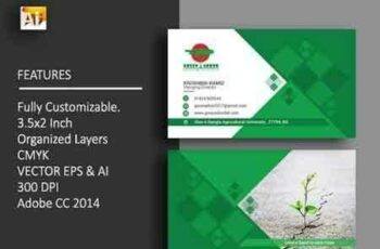 1803154 Agricultural Business Card 1498602 5