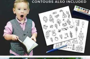 1803164 Kids room - scandinavian design pack 1931260 5