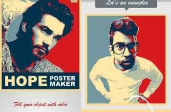 1803168 Hope Poster Maker PS Action 21359995 7