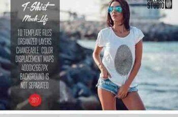 1803176 T-Shirt Mock-Up Vol.17 2017 1962669 6