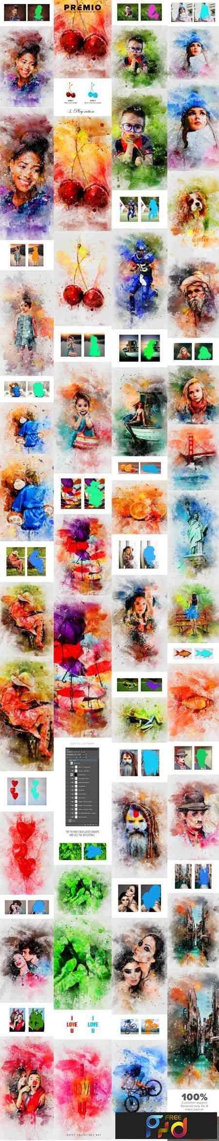 1803180 Premio Watercolor Photoshop Action 21337741 1