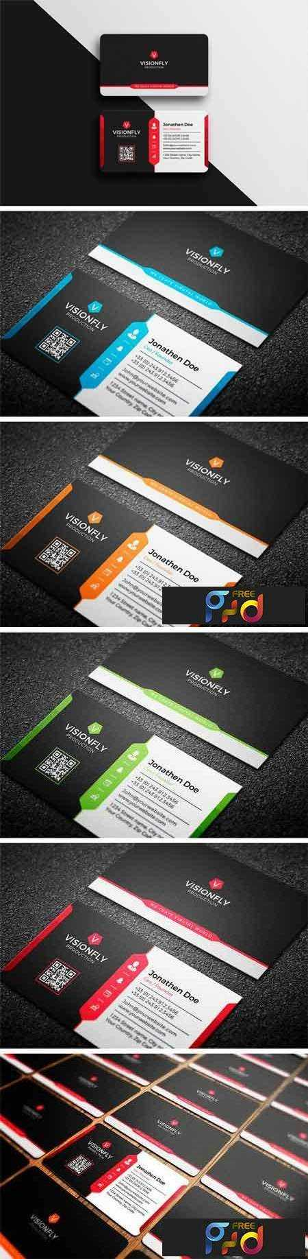 1803181 Corporate Business Card 2248536 - Free PSD download, free ...