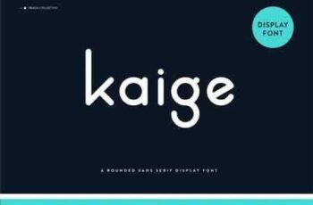 1803185 Kaige Rounded Font 2248620 6