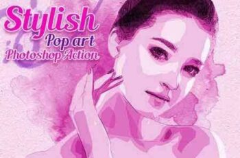 1803186 Stylish Pop Art Photoshop Action 21351891 2