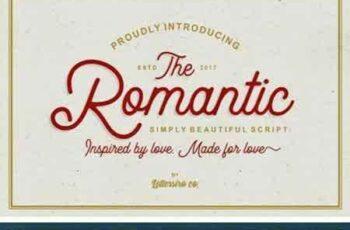 1803193 Romantic Script 4