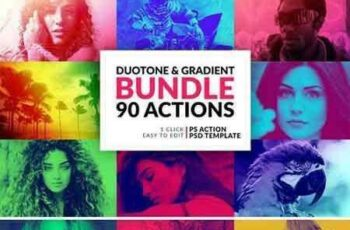 1803207 Duotone and Gradient Actions Bundle 2024191 2