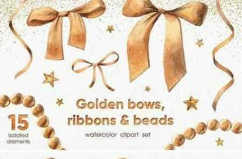 1803212 Golden Bows, Ribbons & Beads 2203042 6
