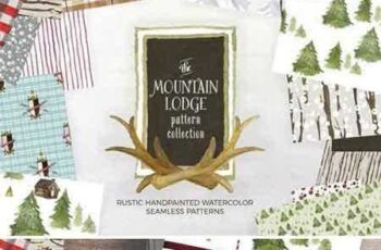 1803223 Mountain Lodge Patterns 2231651
