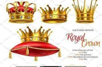 1803227 Realistic Crown Set 2227098 3