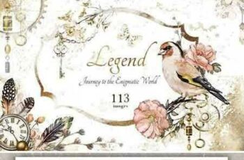1803230 Watercolor collection - Legend 2227419 7