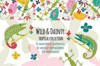 1803235 Wild and Dainty Tropical Collection 2232569 3