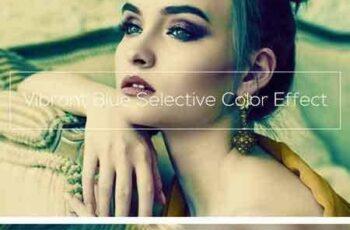 1803282 Vibrant Blue Selective Color Effect 2030485 2