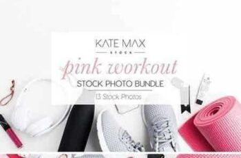 1803295 Pink Workout Stock Photo Bundle 2185924