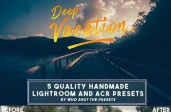 1804019 Deep Vacation Presets (LR & ACR) 698101 8