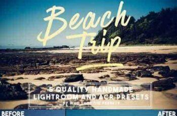 1804028 Beach Trip Presets (LR & ACR) 698094 2