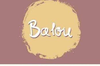 1804058 Balou Handwritten Font 2108561 8