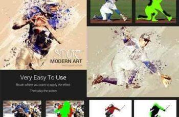 1804095 Sport Modern Art Photoshop Action 21465778 5
