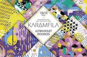 1804109 Ultraviolet Doodles Patterns 2166804 5