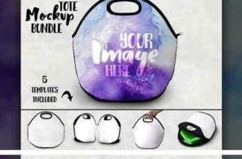1804123 Double sided lunch tote mockup 1512135 7