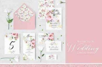 1804127 Floral wedding invitations 2223975 4