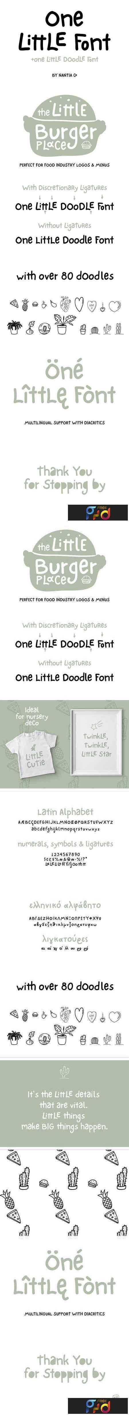 1804138 One Little Font 1505137 1