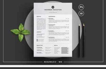 1804141 Resume CV - WH 1512588 3